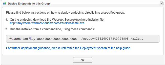 Deploying SecureAnywhere to Endpoints