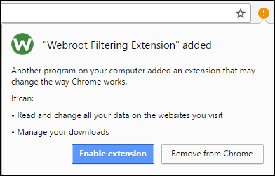 Installing Web Threat Shield Chrome Browser Extensions