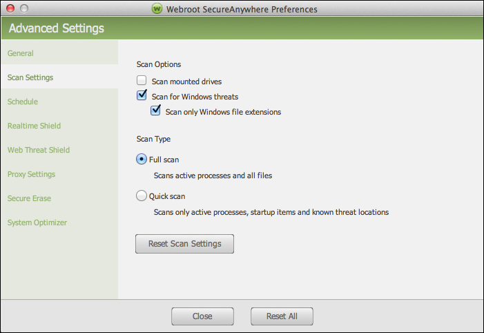 Defining Proxy Server Settings