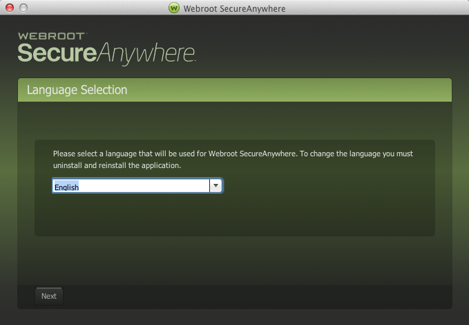 Installing SecureAnywhere
